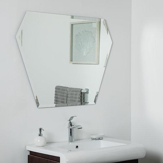 Kent Frameless Bevel Mirror 39.5 x 29.5in Wall Mirror