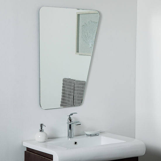 Alisson at Wonderland Framless Mirror 31.5 x 23.6in Wall Mirror