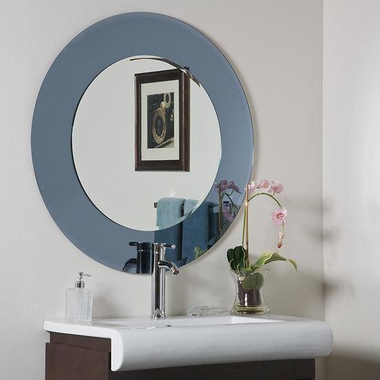 Camilla Round Modern Bathroom Mirror