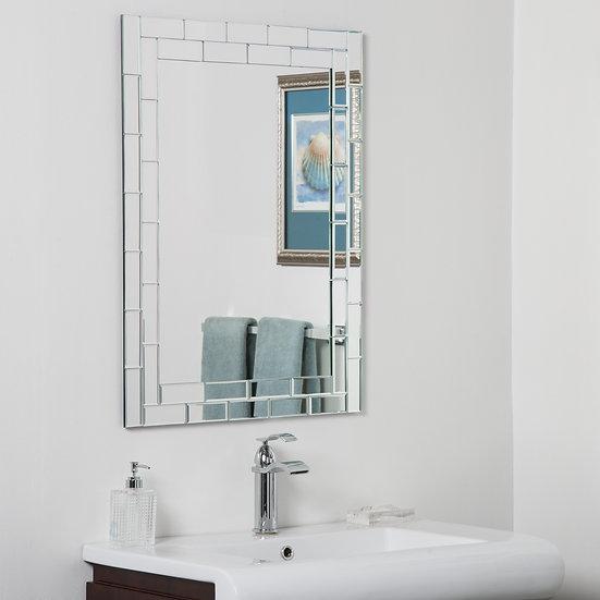 Grand Street Modern Bathroom Mirror