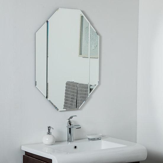 Bannery Frameless Bevel Mirror 31.5 x 23.6 Wall Mirror