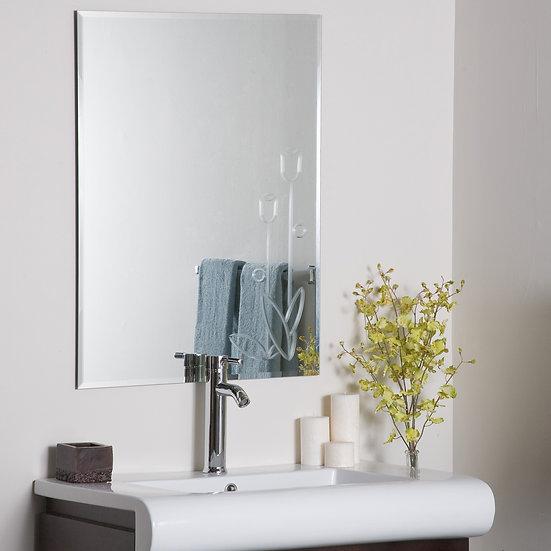 Flora Frameless Wall Mirror