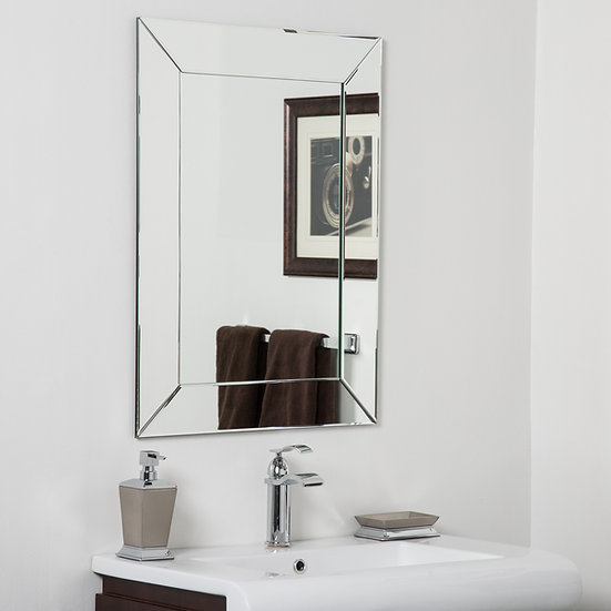 Avie Modern Bathroom Mirror