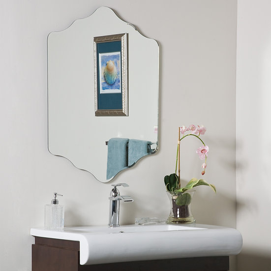 Vandam Frameless Bathroom Mirror