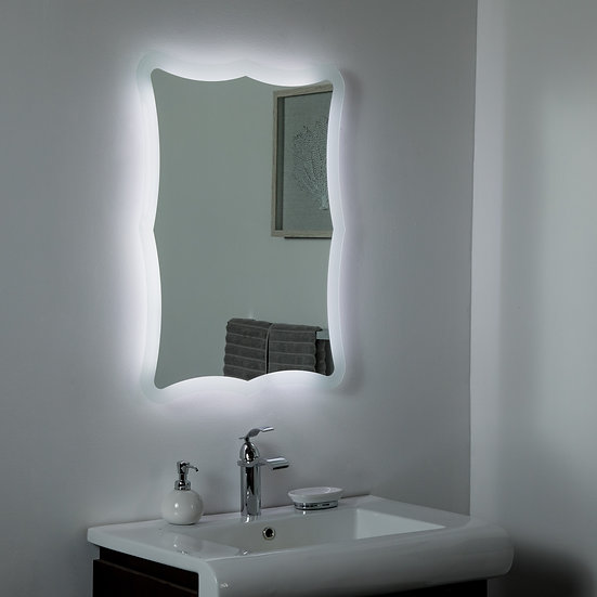 Nikita LED Bathroom Mirror  23.6 x 31.5in Bathroom Mirror