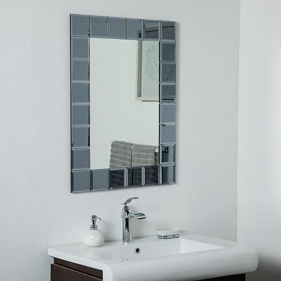SilverLake Large Frameless Mirror 31.5 x 23.6in Wall Mirror