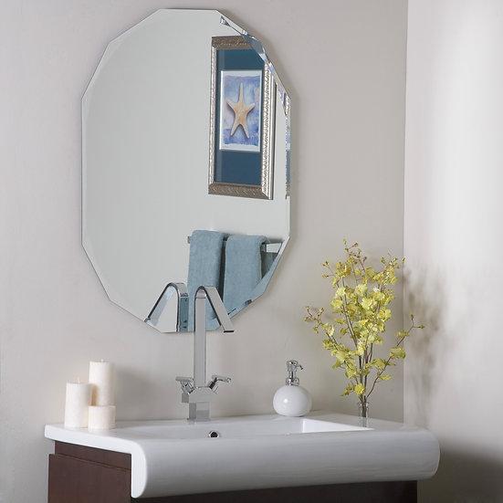 Diamond Bathroom mirror 31.5Hx23.6Wx.5D