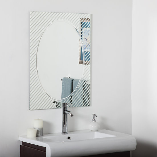 Allegro Modern bathroom mirror