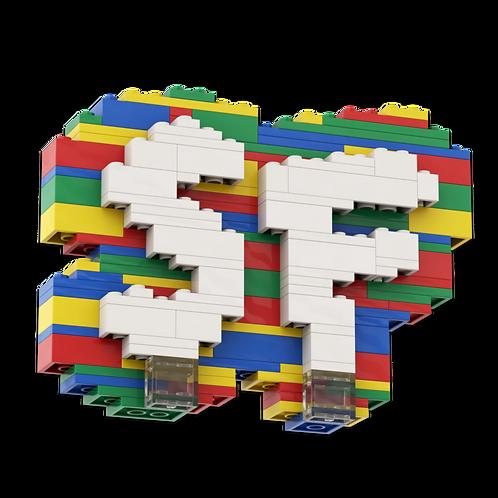 """BRICK BY BRICK"" LEGO Set"
