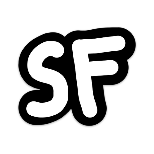 """SF LOGO"" Sticker"