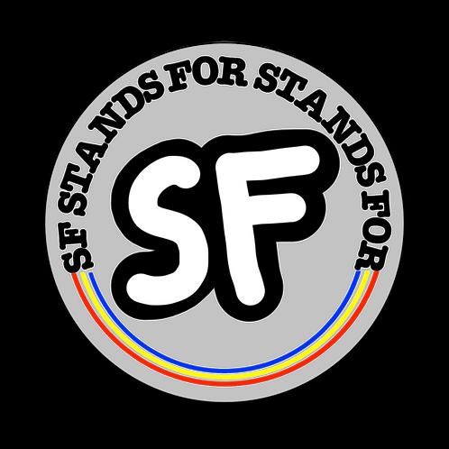"""SF ATHLETICS"" Sticker"