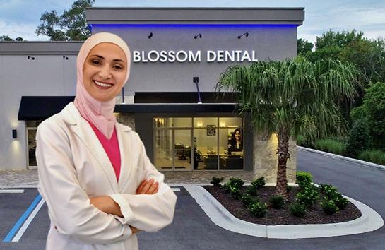 Dr Huda Aljonaidy, Blossom Dental