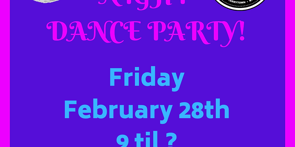 80's Night Dance Party!
