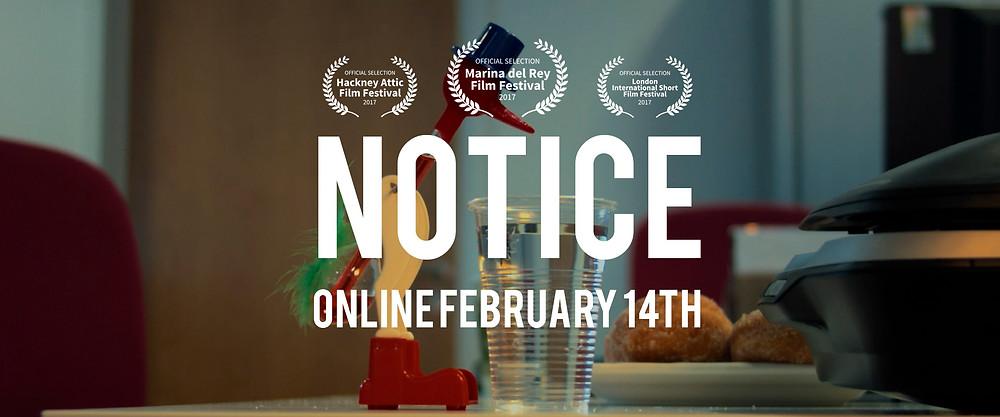 Notice short film review