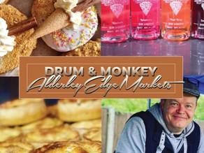 This weekend Drum & Monkey & Treacle's 11th Birthday!