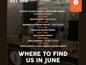 3 markets you can find us at they weekend