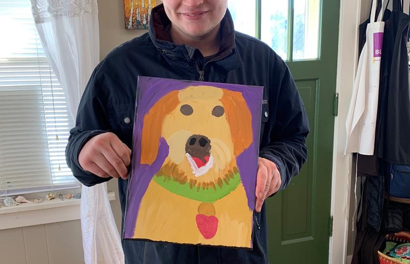 A portrait of Gynger
