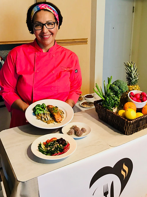 On-Demand Virtual Cooking Class: Happy Food, Happy Mood
