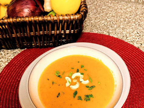 A Quick & Easy Comforting Asian Inspired Soup