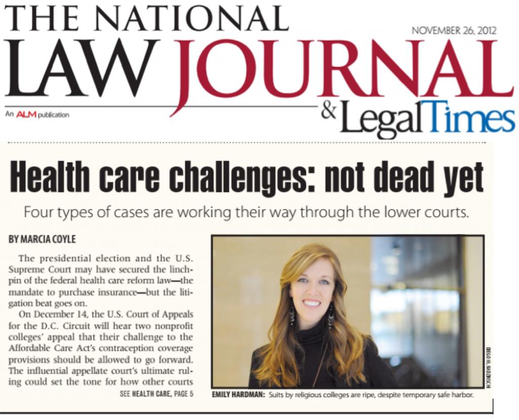 Emily Hardman National Law Journal