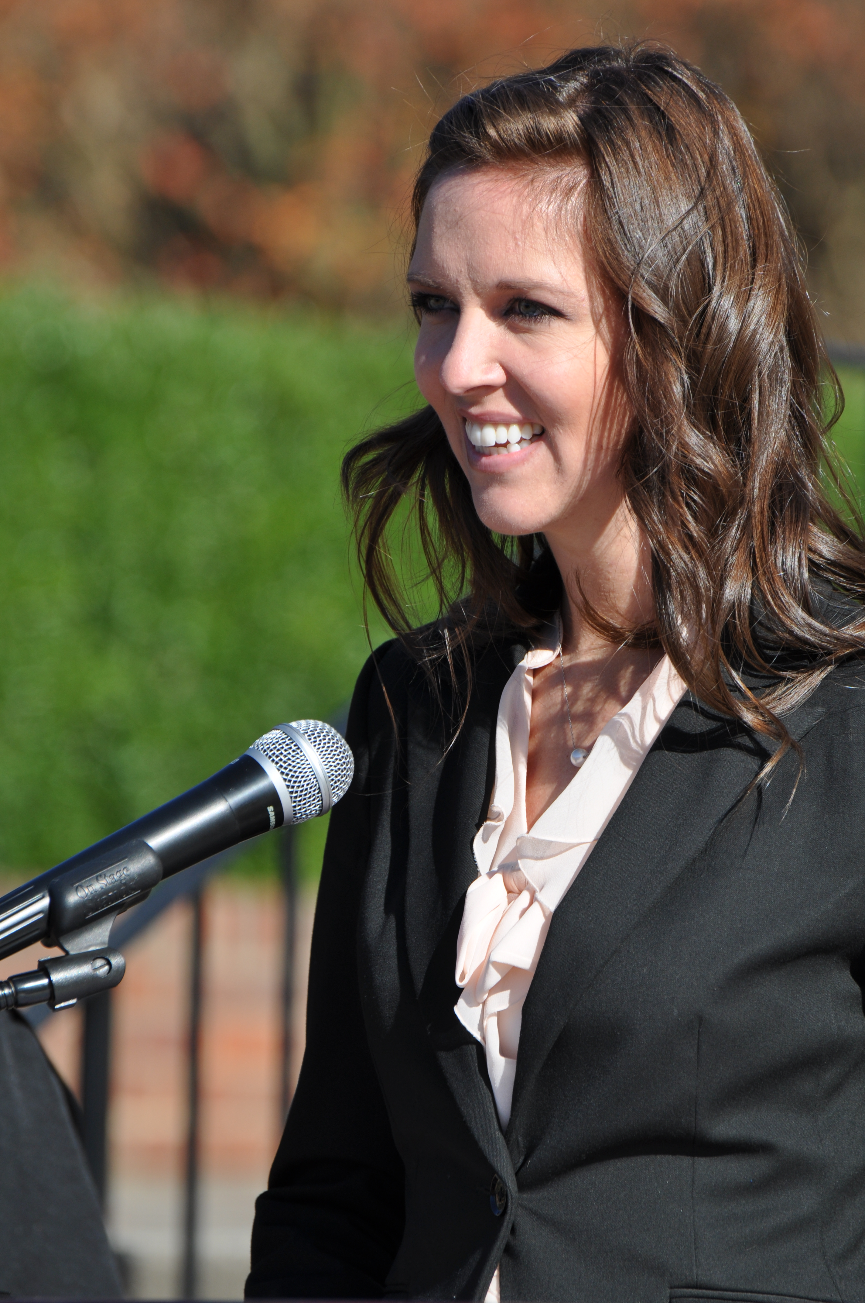Emily Hardman BA press conference