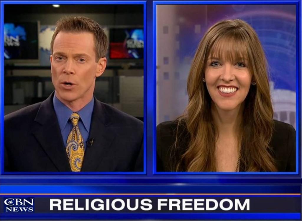 Emily Hardman on CBN