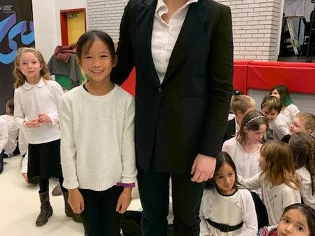 Fuller Shares Joy of Music with Children