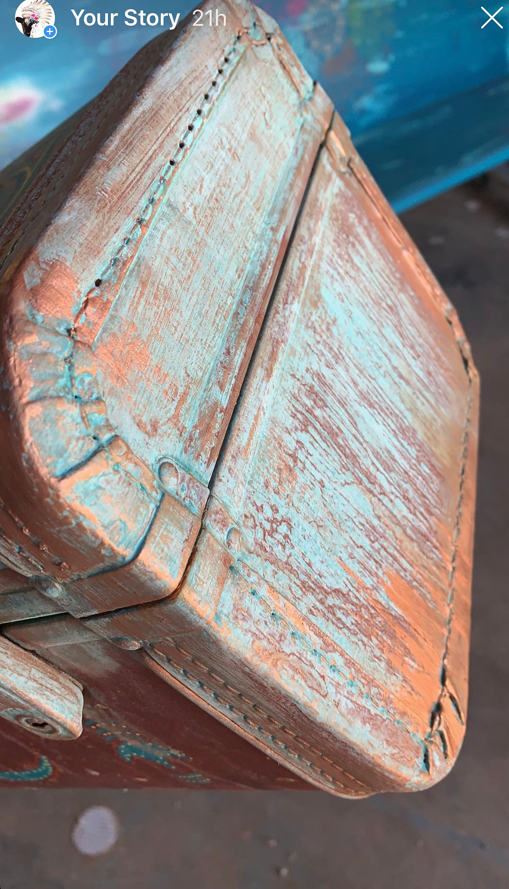 patina paint finish