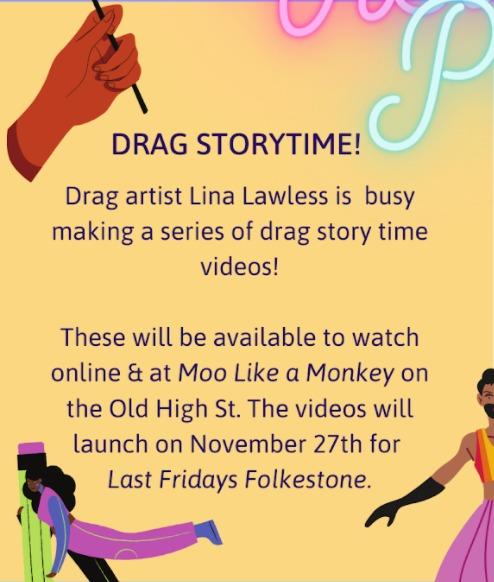 Drag storytime
