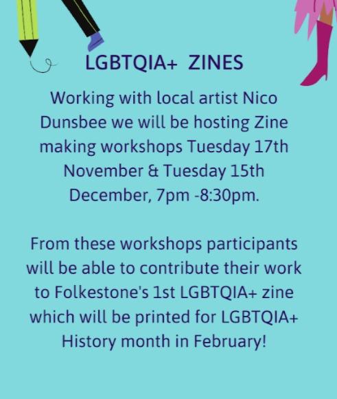 LGBTQIA+Zines