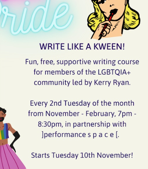 Write like a kween