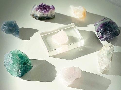 Halcyon Rose Quartz Crystal Soap