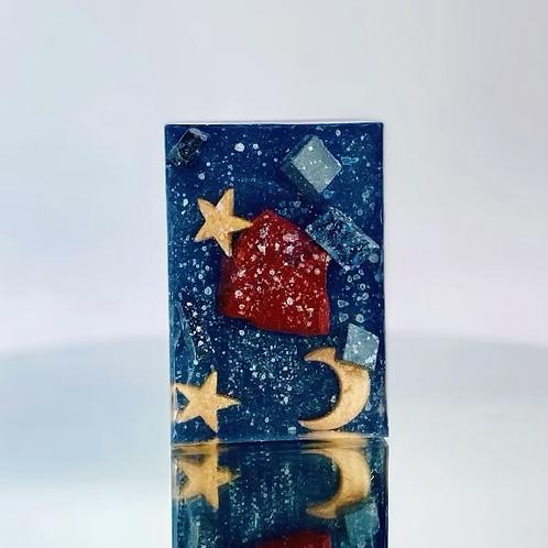 Starry Night Red Jasper Soap