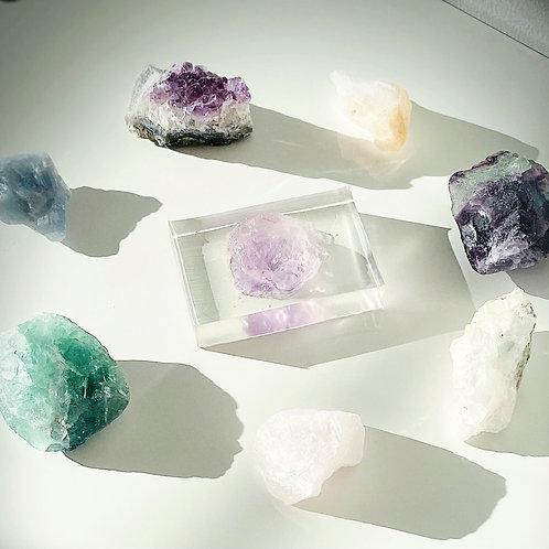 Elysian Amethyst Crystal Soap