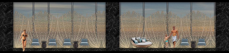 lounging deck elevation