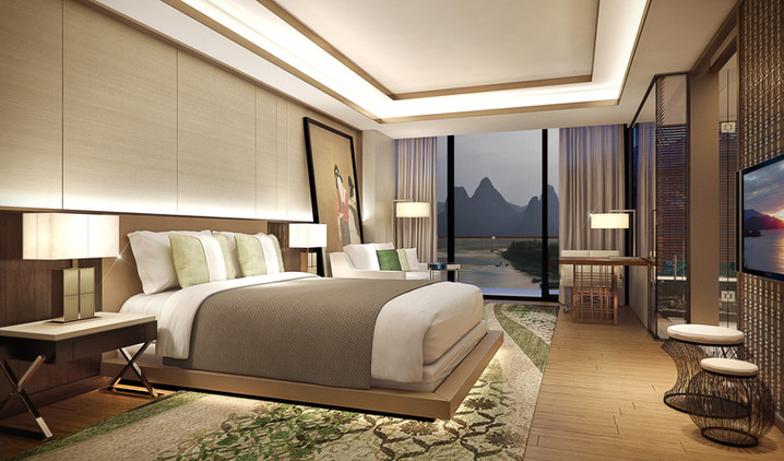 guestroom interior