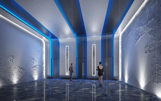 VVIP lift lobby