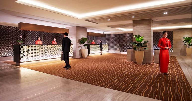 ground reception lobby