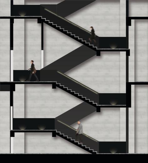 staircase circulation