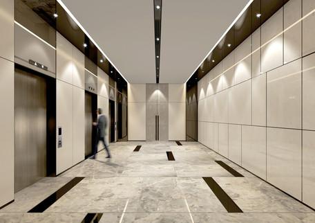 retail lift lobby