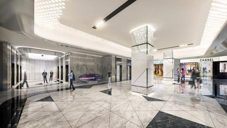 office reception/ lift lobby
