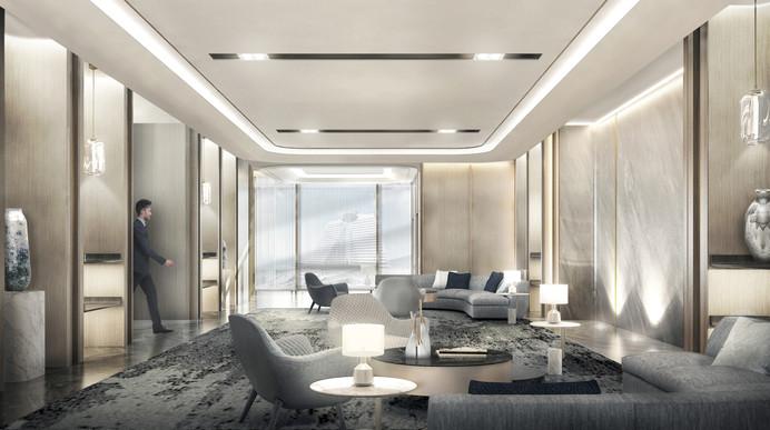 VIP reception area
