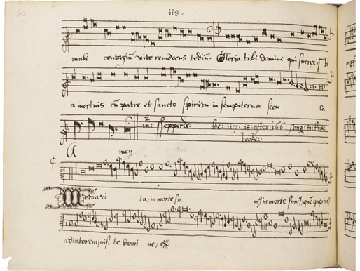A Choral Work from a 1550's Pandemic- Music link and article from the New York Times