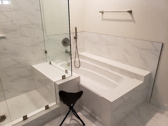 Bathtub and Shower remodel