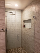 complete shower remodel