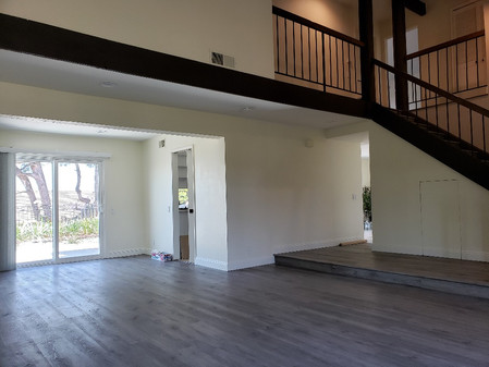 SPC Flooring and Wall Paint