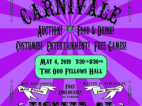 Buy your tickets for Carnivale 2019!