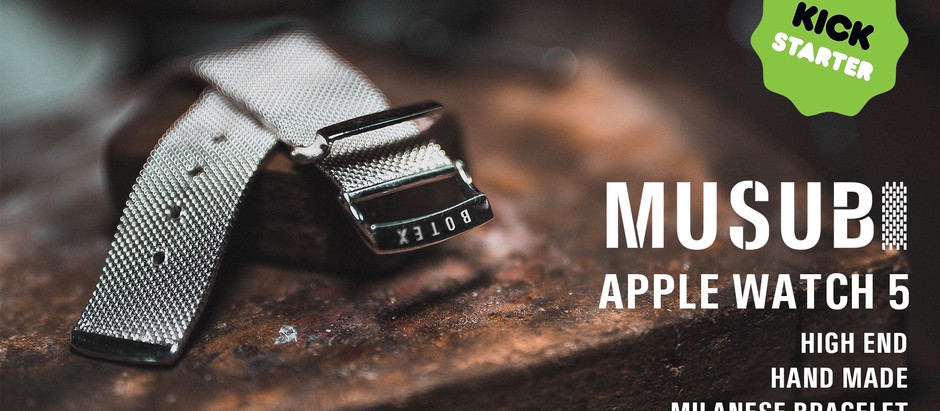 Musubi, the high-end Milanese Bracelets for AppleWatch 5 offer style and comfort in one