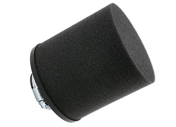 Filtro de aire STR8 espuma negra, larga derecha (d = 12-21 mm)