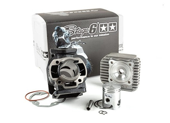 Stage6 cilindro cilindro 50cc Streetrace hierro fundido MBK Booster / Stunt